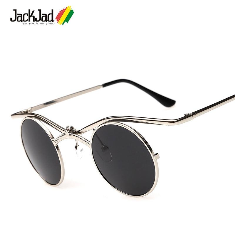 JackJad 2017 New Mode SteamPunk Gothique Vampire Style lunettes de Soleil Hommes Marque Design Vintage Lunettes de Soleil Oculos De Sol Masculino