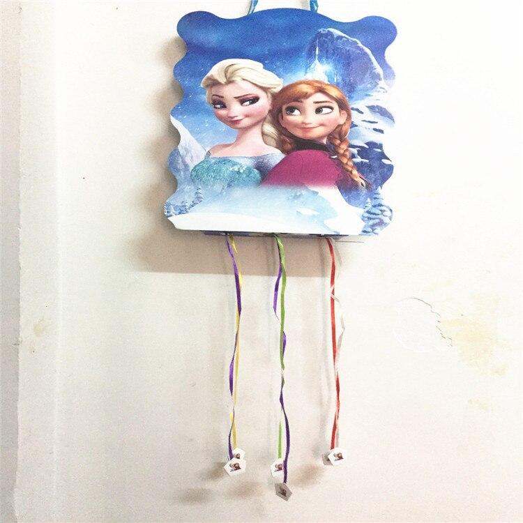 Frozen Anna Elsa Princess Theme Pinata Folding Birthday Party Have