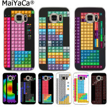 MaiYaCa Elemental Design Periodic Table Luxury Fashion Phone Case for Samsung S9 S9 plus S5 S6 S6edge S6plus S7 S7edge S8 S8plus(China)