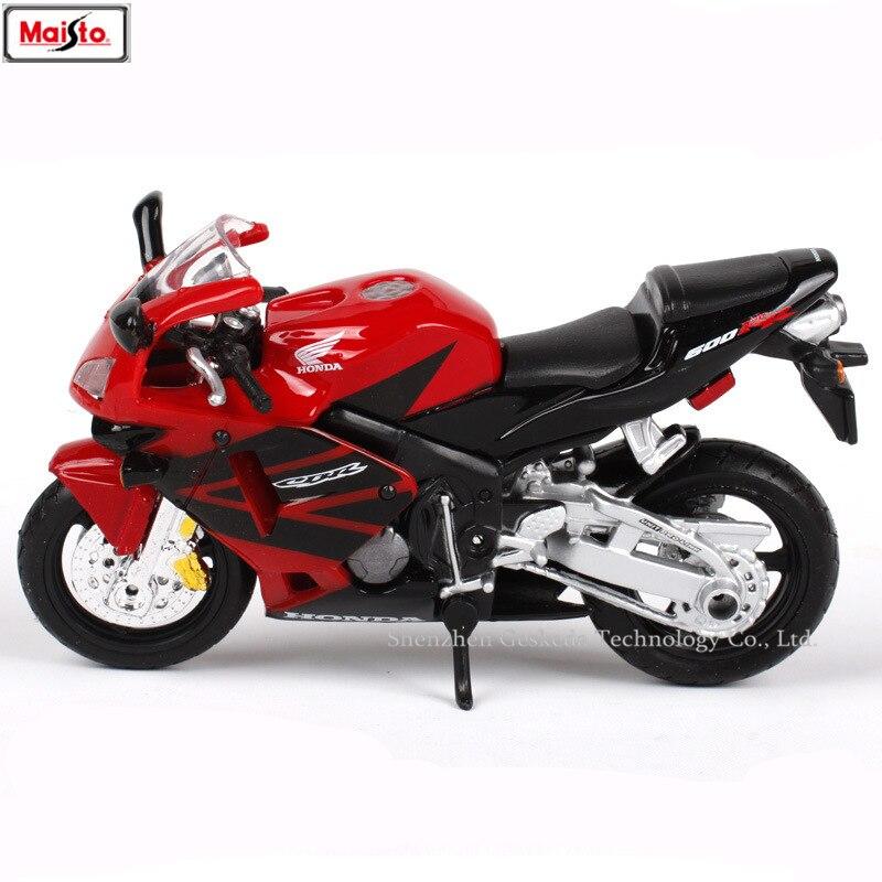 Maisto 1:18 12 styles Honda CBR600RR original autorisé simulation alliage moto modèle jouet voiture collection cadeaux