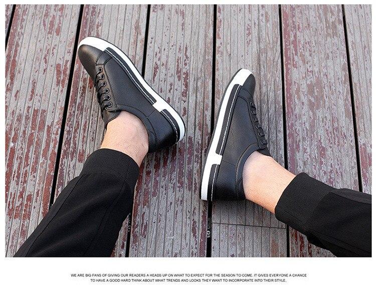 HTB1XgevajzuK1RjSspeq6ziHVXaX Gentlemans Luxury Leather Shoes Men Sneakers Men Trainers Lace-up Flat Driving Shoes Zapatillas Hombre Casual