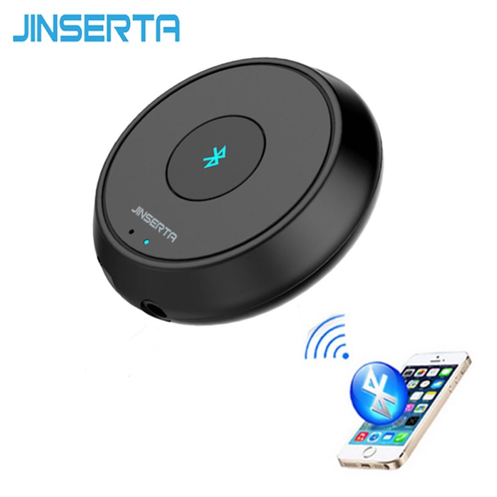 Jinserta аудио приемник <font><b>Bluetooth</b></font> A2DP USB Автомобильное Зарядное устройство громкой связи для iphone 5S 6 Plus Беспроводной <font><b>Bluetooth</b></font> гарнитура для авто MP3-плееры
