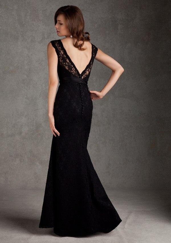 Aliexpress.com : Buy Sexy Bridesmaid Dress Lace Cap Sleeve Scoop ...