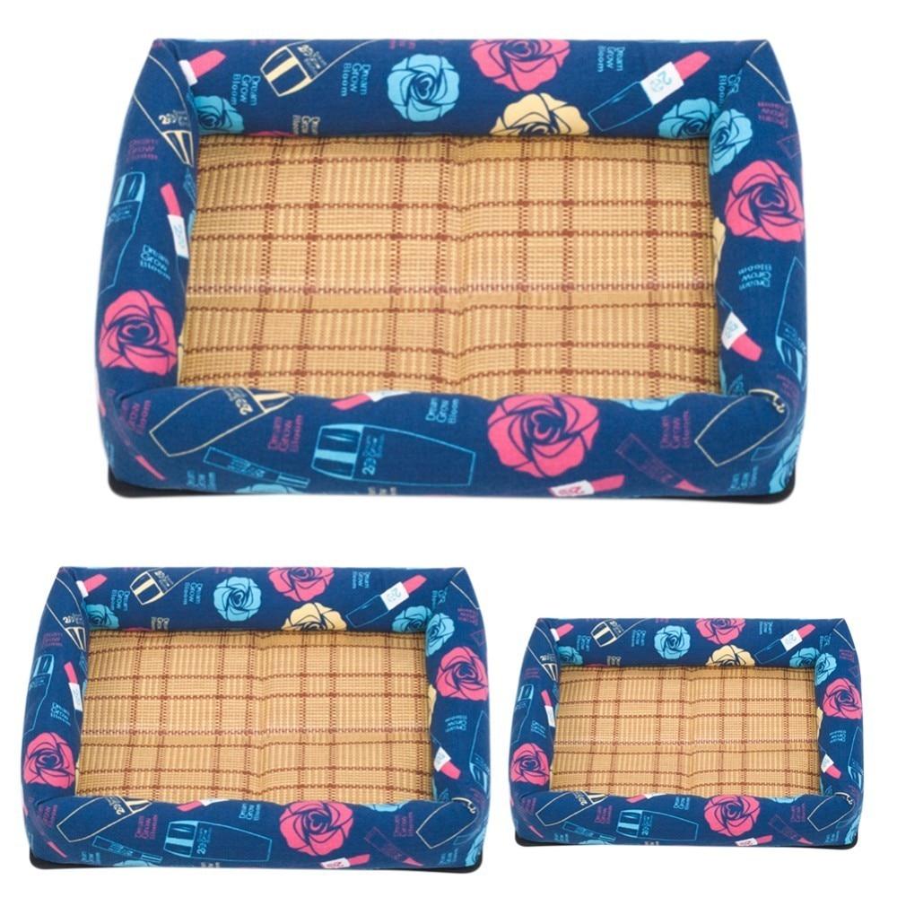 Cool Printed Pet Mat Cat Bed Pad Moisture Proof Cat Litter Cooling Mat Summer Pet Pad Pet Cooling Products