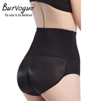 Burvogue Sexy Butt Lift Briefs Hip Up Padded Lingerie Butt Enhancer Control Panties Push Up Seamless