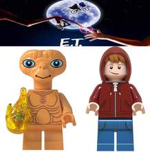 E.T. Legoings Extra-Terrestrial Character Science Fiction Movie Film Alien Building Blocks Bricks Toys for Children Gifts Kids(China)