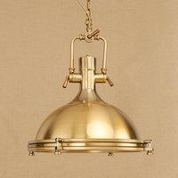 Vintage Loft Pendant Lights Indoor Lighting Retro Edison Hanging Lamp Industrial Kitchen Chrome Gold pendant Lamps ZDD0010