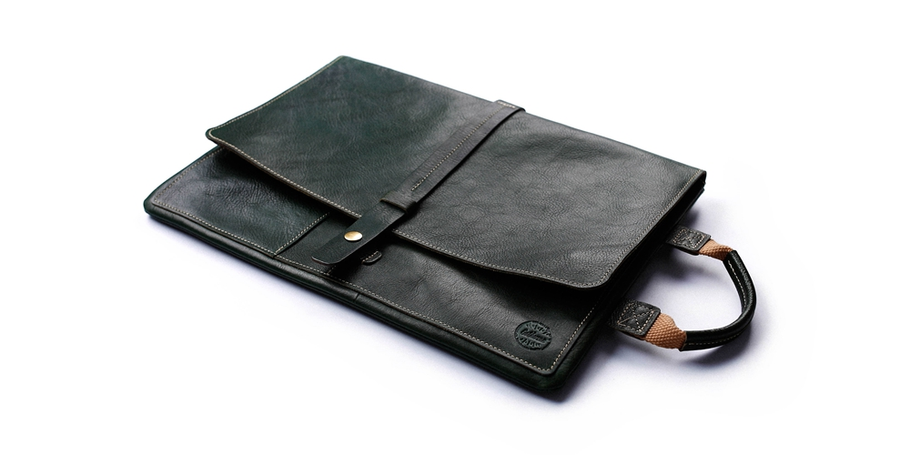 laptop leather sleeve