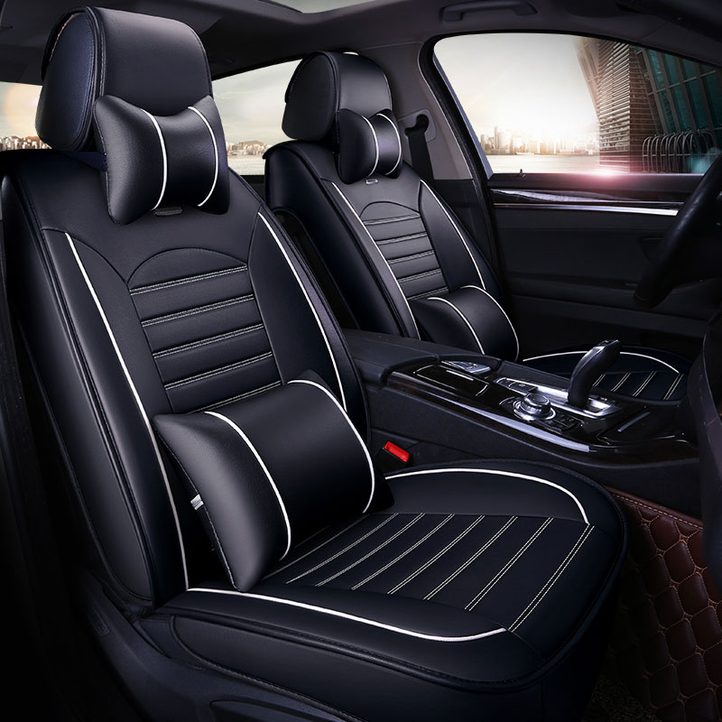 Leather Universal Car Seat Cover Covers Automobiles