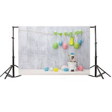 90x150cm Studio Children Photography Backdrops Easter Colorful Eggs Photo Backgrounds Cloth Props Party DIY Decorations