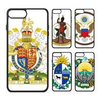 Azië UK Vaticaan Oezbekistan Turkije Tunesië Nationale Embleem Land Symbool Telefoon Case voor iPhone X 7/8 Plus Gevallen Phonecase Cover