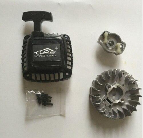 Facile start pull starter et Volant avec Griffe pour 1/5 hpi baja 5B 5 T 5SC losi 5ive-T rc voiture pièces