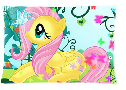 My Little Pony Fluttershy Anime Best Pillow Cases Two Sides For 16x24 Inch Free Shipping Case For Htc Incredible S Side Pouchside Player Aliexpress
