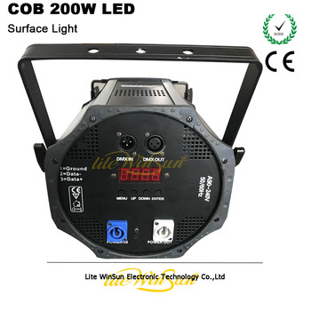 Litewinsune 200W COB LED 3200K Iluminación Superficial Para TV Teatro Prolight 6 Uds/caja De Cartón