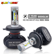 2pcs H7 Led H4 H11 H1 H3 9005 9006 Car LED Headlight Auto fog Lamp 50W