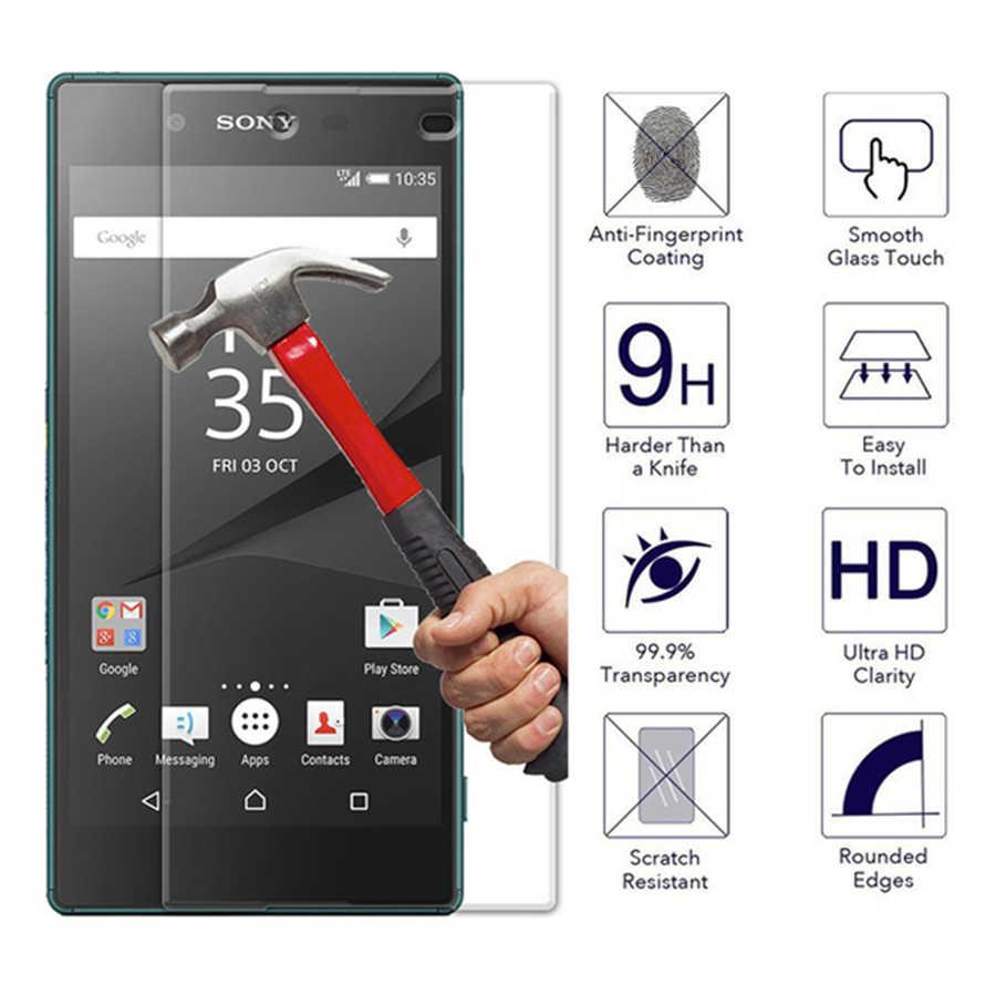 Для Sony Xperia Z3 Compact стекло для Sony Xperia Z3 закаленное стекло Z5 Plus Z4 Z2 Z1 Compact мини защита экрана не полное покрытие
