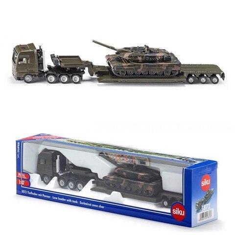 1 87 escala homem plataforma caminhao com tanque siku 1872 brinquedo diecast metal modelo educacional