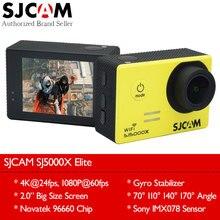Экшн камера SJCAM SJ5000X Elite 4K 24fps, сенсор IMX078,  процессор NTK 96660 CPU с функцией видеорегистратора  и регулируемым углом обзора объектива