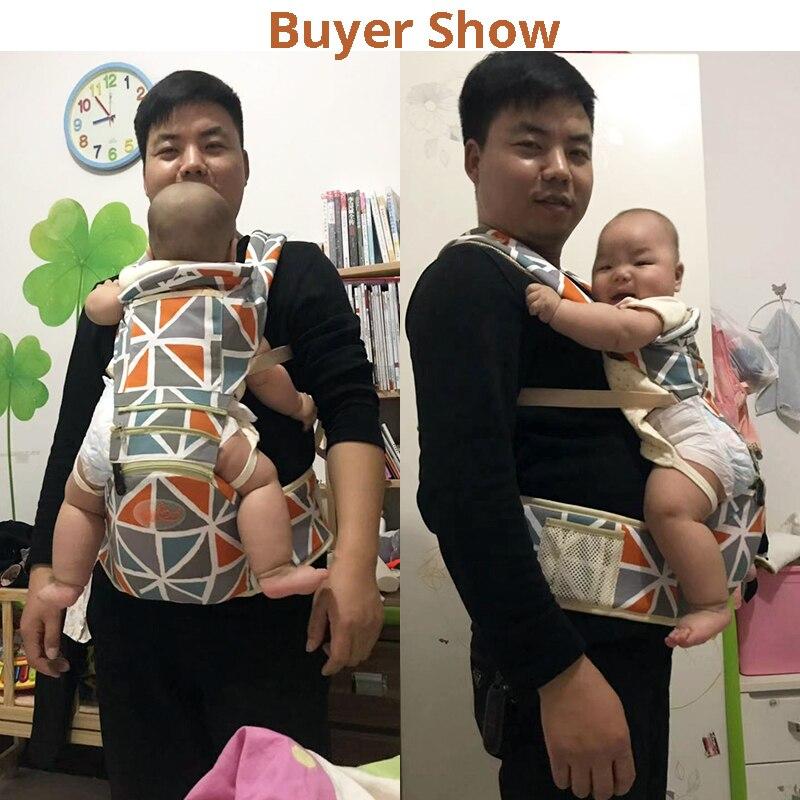 Купить с кэшбэком 2 in 1 Cotton Baby Carrier Sling For Newborns Kangaroo For Baby Sling Ergoryukzak Breathable Kangaroo Baby Accessories