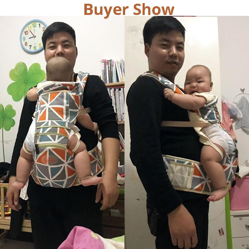 Baby Carrier Ergonomiczny Przewoźnik Pozycje Pas biodrowy Sling Belt - Aktywność i sprzęt dla dzieci - Zdjęcie 6