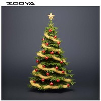 Diamond Painting 3D DIY Diamond Embroidery Christmas Tree Five-Pointed Star Christmas Decorations For Home Wall Stickers RF773