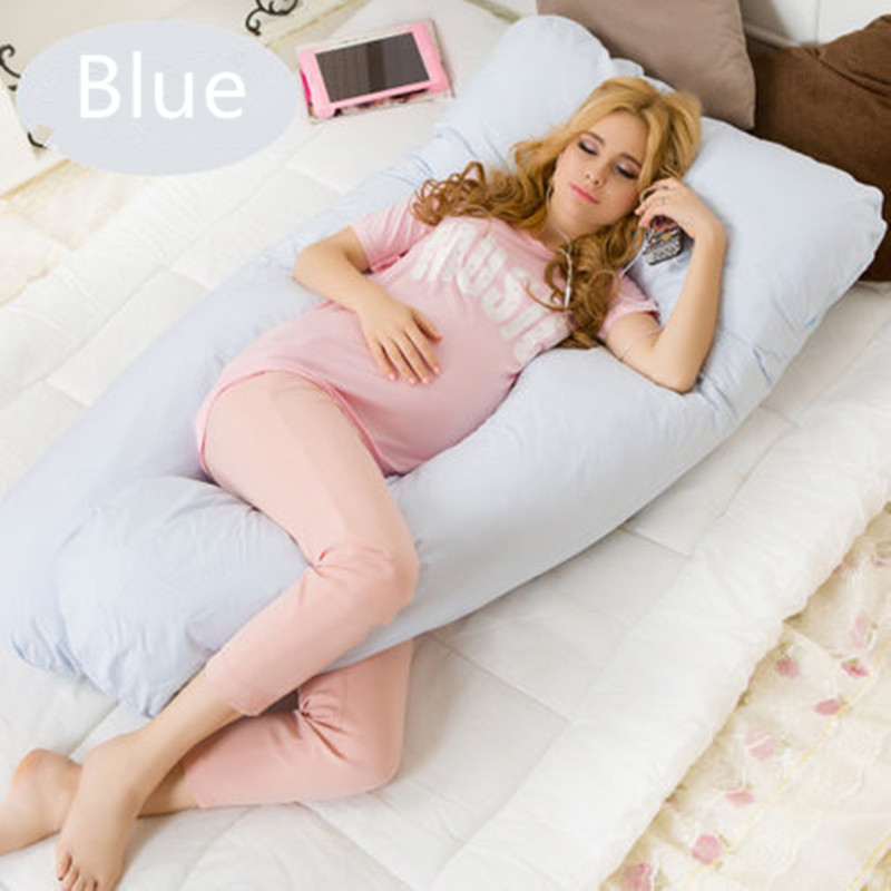 U shape Maternity pillows pregnancy Comfortable Body pregnancy pillow Women pregnant Side Sleepers cushion 130*70CM