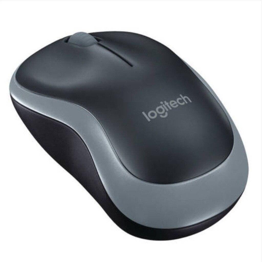 Logitech M186 Optical Ergonomic 2.4GHZ Wireless Mouse 3 Button 1000DPI Optical Mouse  Mice Laptop PC Mouse For Computer 719#2 2