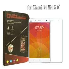 2015 Новый Закаленное Стекло для Xiaomi Mi 4 M4 Mi4 Mi4s MI4C Экран Защитная Пленка Высокого Качества Экран Гвардии Protector С коробкой