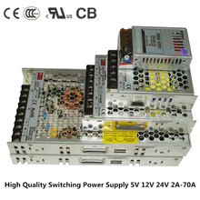 Slim transformator power DC 5V 12V 24 V  2A 4A 8A 10A 14A 16A 20A 29A power supply Switching Power,for 5050 3528 WS2812B strip wholesale nzxt df1402512sedn 12v 1 68w 0 14a 140 140 25 14cm chassis power supply fan