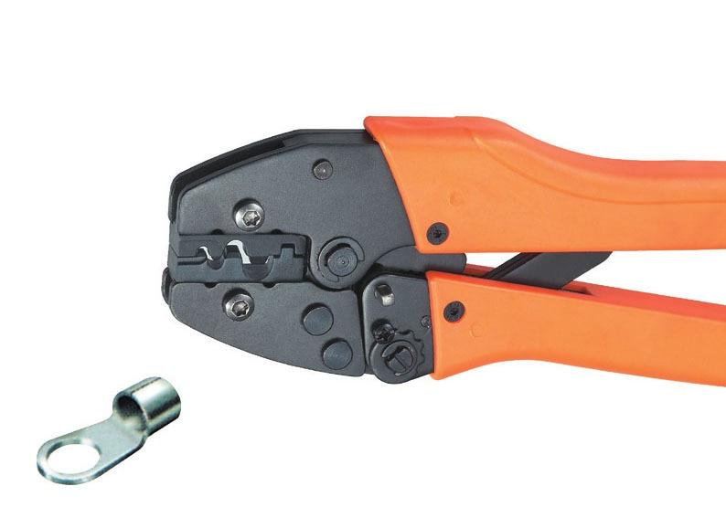 Ratchet crimping plier 0.5-1.0,1.5-2.5,4.0-6.0,10mm2  AWG20-7 Dedicated cable connector crimping tool xkai 14pcs 6 19mm ratchet spanner combination wrench a set of keys ratchet skate tool ratchet handle chrome vanadium