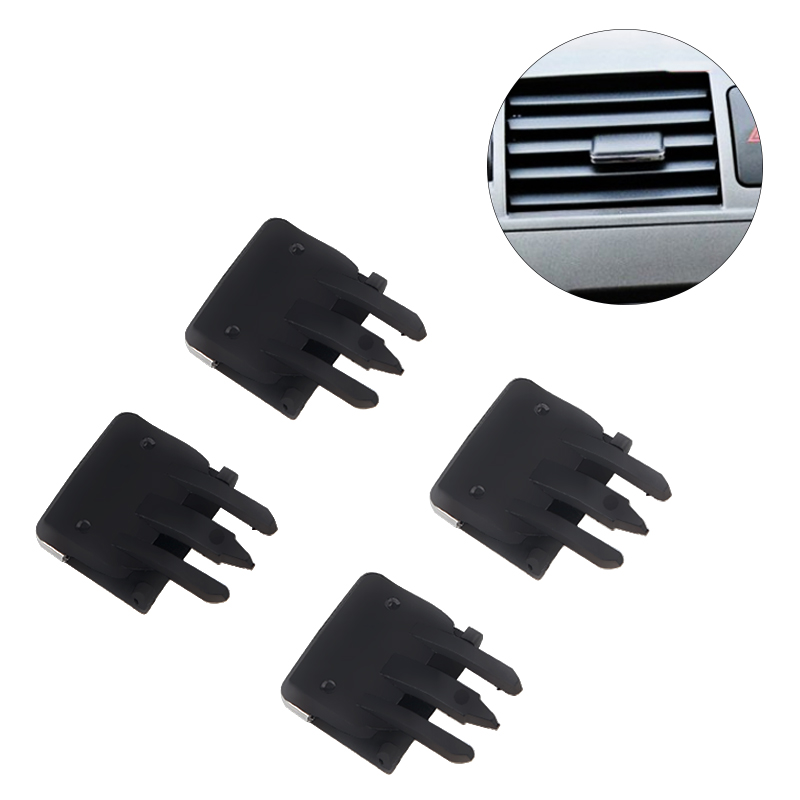 4 PCS Car Air Conditioning Vent Car Center Dash A/C Vent Louvre Blade Slice Air Conditioning Leaf Clip For <font><b>Toyota</b></font> <font><b>Corolla</b></font> image