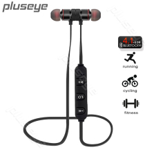Pluseye Magnetic Bluetooth  Headset Wireless Earbuds Stereo Sport  earphone with  Mic for Xiaomi  iPhone fone de ouvido