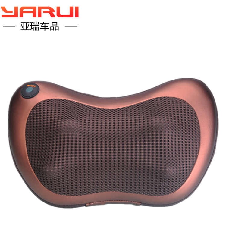 Car headrest seat neck guard multi-functional  interior article electric massage pillow four seasons general use