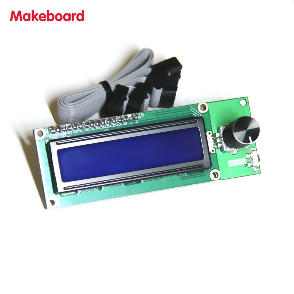 Micromake Makeboard 3D Printer Parts 3D Printer Mini Display 1602 Mini Controller Compatible with Ramps 1.4