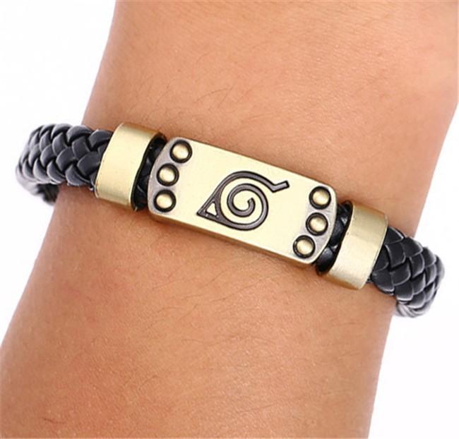 Naruto Leather Braid Bracelet 1