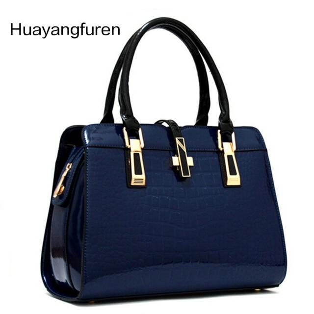 8e1b234542 Hot Sale New 2017 Fashion Brand Sell like hot Fashion women handbag brand handbags  Patent Leather