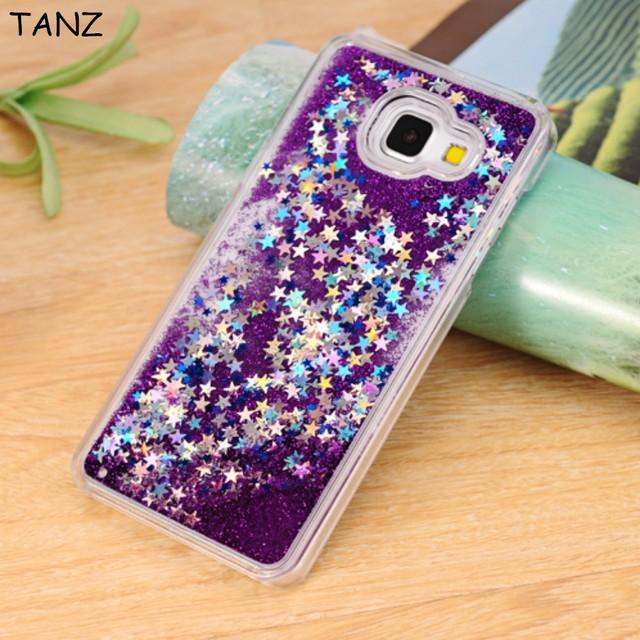 ae203d15bea TANZ Dynamic Liquid Bling Star Quicksand capa Fundas Case for Samsung  Galaxy A3 A5 A7 2016 j3 J5 J7 S4 S5 S6 S6 Edge plus S7