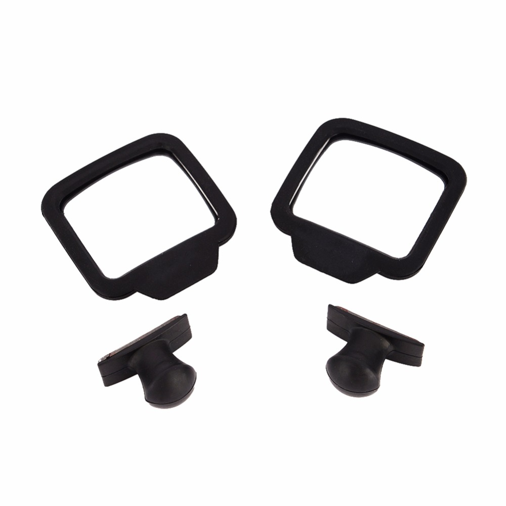2Pcs Car Rearview Mirror Rear Seat Passenger 270 Degree Adjustment Wide Angle Lens Magnetic Baby Kids Auto Safety Retroviseur