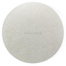 Без центрального отверстия 12 дюймов 300 мм зернистость 60-1000 Тип зернистости от грубой до тонкой алмазного покрытия плоский круг шлифовальны...