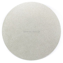 NO CENTER HOLE 12 inch 300mm  Grit 60 - 1000 Grit Type from Coarse to Fine Diamond coated Flat Lap Disk Grinding Polish Wheel