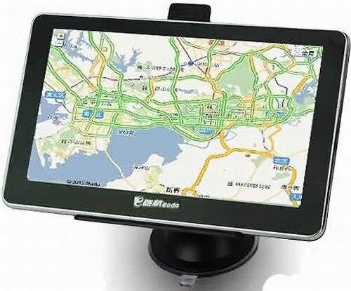 5 Inch LCD Screen Win CE 6.0 Bluetooth AV Core GPS Navigator with FM Transmitter 5 inch lcd win ce 6 0 core bluetooth av gps navigator w fm transmitter