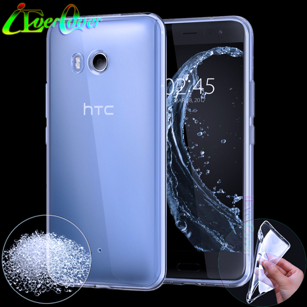 imágenes para 10 Unids para HTC Caso U11, Premium Clara Suave Cubierta Del Gel de TPU para HTC U 11 U11 5.5 pulgadas 64 GB 128 GB Teléfono de Nuevo cubierta de Piel de Silicona