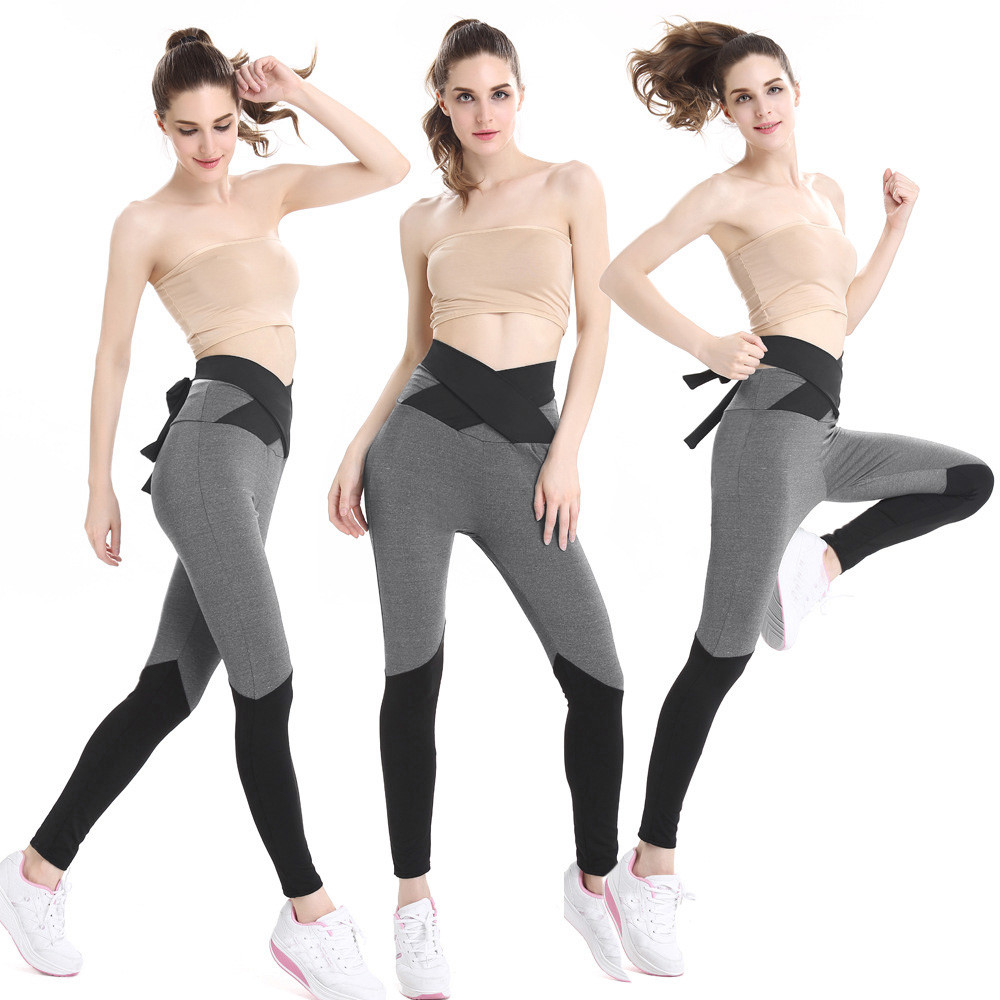 Sexy Mesh Women High Waist Sports Gym Yoga Running Fitness Leggings Pants Workout Clothes Gym Slim Compression Pants Leggings#10