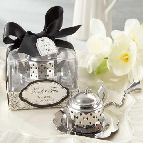 2016 Practical Kitchen Gift Whimsical Wedding Favor Teapot Tea Infuser Bridal Shower For