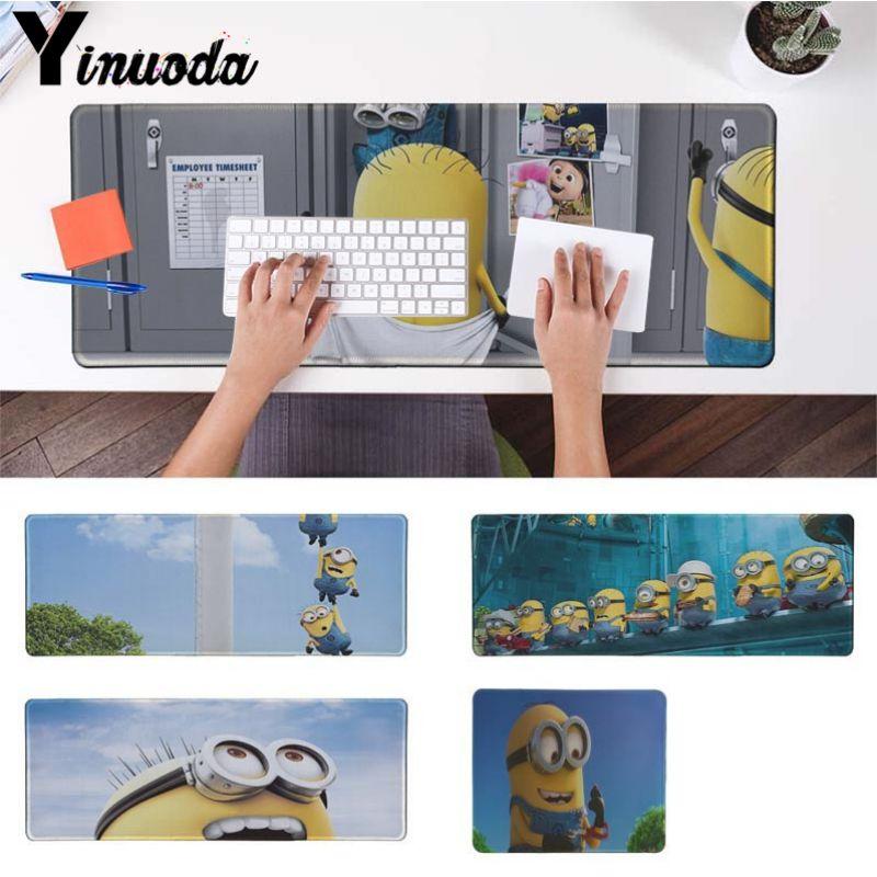 Yinuoda Non Slip PC Despicable Me Minions DIY Design Pattern Game mousepad Size for 18x2 ...