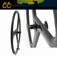 Tri Spoke Wheel Clincher 38MM Clincher Top Quality And Best Price 3 Spokes Wheels Full