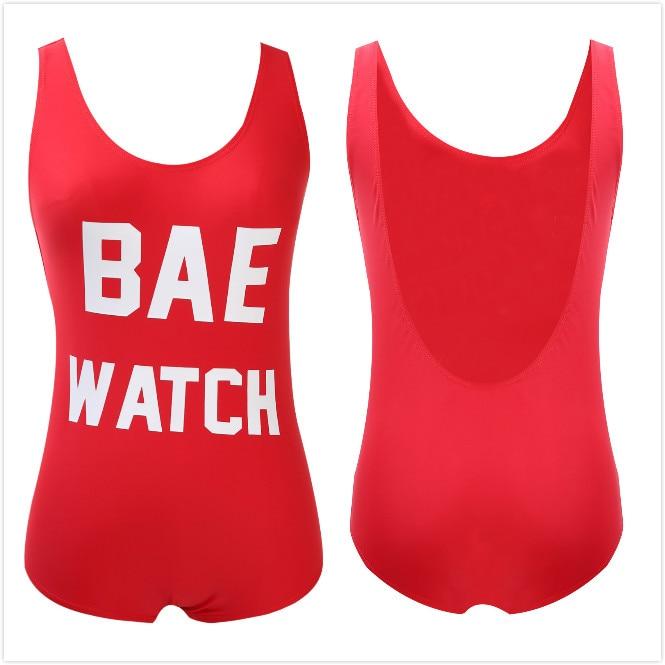 Sexy Women One Piece Swimsuit Monokini Swimsuit Beach Backless Swimwear Beachwear Letters Printed Bathing suit S-L 4