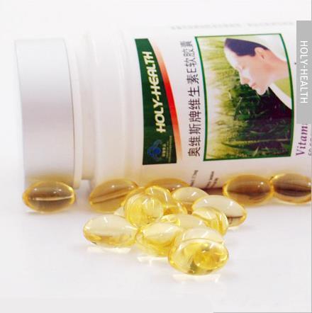 1 bottle nature vitamin e softgel capsules anti-wrinkle firming serum essence free shipping