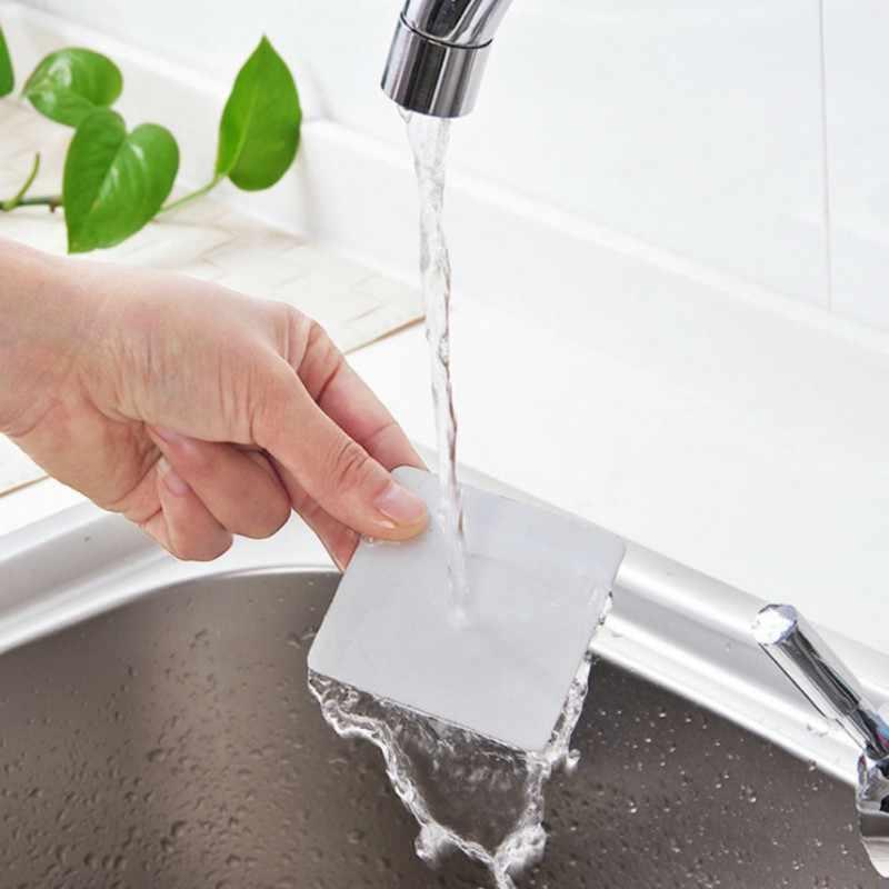 Nowa łazienka szampon butelki na żel pod prysznic uchwyt półki wieszak do montażu na ścianie stojak przyssawka wiszący Super Sucker Hook