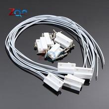 5 комплектов MC38 проводной дверной оконный датчик N/C N/O переключатель магнитной сигнализации 330 мм длина 100 В постоянного тока нормально закрытый/открытый для домашнего сейфа